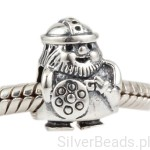 D185 Wiking charms koralik beads srebro 925